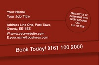 Car Hire Business Card  by Templatecloud