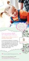Nursery 1/3rd A4 Flyers by Templatecloud
