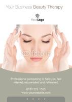 Beauticians A5 Leaflets by Templatecloud