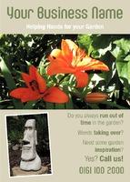 Garden Maintenance A6 Leaflets by Templatecloud