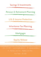 Accountants A7 Leaflets by Templatecloud