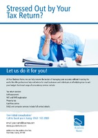 Accountants A4 Leaflets by Templatecloud