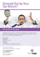 Accountants A5 Leaflets by Templatecloud