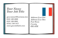 Language Teacher Business Card  by Templatecloud