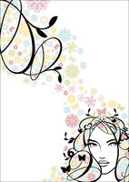 Hair A4 Stationery by Templatecloud