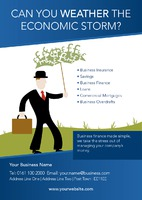 Finance A5 Leaflets by Templatecloud