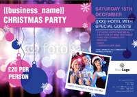 Event A4 Leaflets by Templatecloud