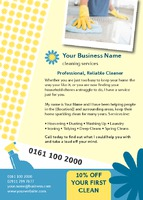 Home Maintenance A6 Leaflets - Front