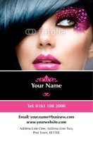 Make up Business Card  by Templatecloud