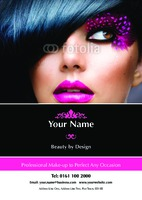 Make up A4 Leaflets by Templatecloud