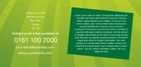Garden Maintenance 1/3rd A4 Leaflets by Templatecloud