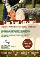 Tree Surgeon A5 Leaflets by Templatecloud