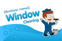 Window Cleaning Business Card  by Templatecloud