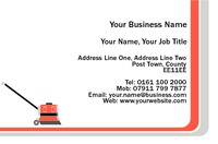 Cleaners Business Card  by Templatecloud