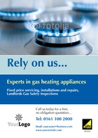 Gas Fitters A3 Posters by Templatecloud