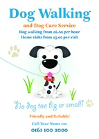Pet Care A6 Leaflets by Templatecloud