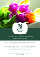 Garden Maintenance A6 Leaflets by Templatecloud