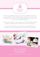 Bakery A5 Leaflets by Templatecloud