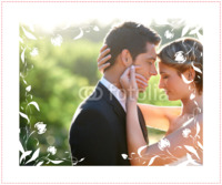 """Marriage 16x20"""" with premium frame Photo Canvas by Templatecloud"""