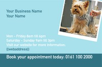 Dog Groomers Business Card  by Templatecloud