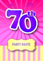 Birthday Party A5 Leaflets by Templatecloud