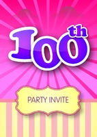 Birthday Parties A5 Leaflets by Templatecloud