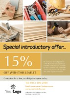 Carpenters A6 Leaflets - Back
