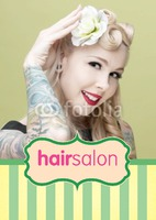 Beauty Salon A5 Leaflets - Front