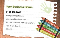 Nursery Business Card  by Templatecloud