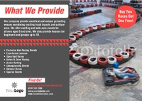 Go Karting A5 Flyers by Templatecloud