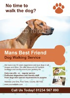 Pets A6 Flyers by Templatecloud