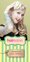 Beauty Salon 1/3rd A4 Leaflets - Front