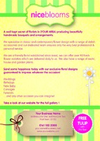 Garden Maintenance A6 Leaflets - Back