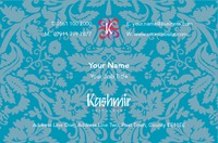 Restaurant Business Card  by Templatecloud
