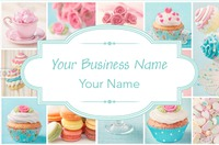 Bakery Business Card  by Templatecloud