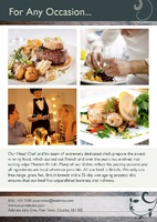 Restaurant A5 Leaflets by Templatecloud