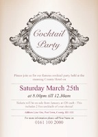 Event A6 Invitations by Templatecloud