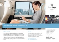 Taxi A5 Leaflets by Templatecloud