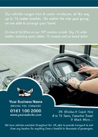 Taxi A6 Leaflets by Templatecloud