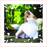 """Marriage 20x20"""" with premium frame Photo Canvas by Templatecloud"""