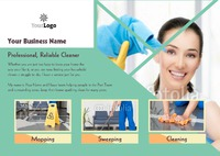 Cleaning A5 Leaflets by Templatecloud