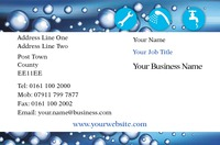 Cleaning Business Card  by Templatecloud
