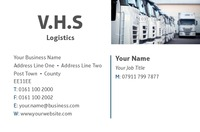 Logistics Business Card  by Templatecloud