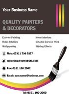 Painter A5 Leaflets by Templatecloud