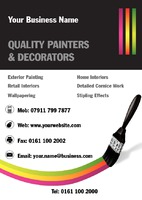 Painter A6 Leaflets by Templatecloud