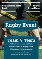 Sports A6 Leaflets by Templatecloud