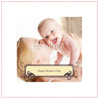 """Photo Upload 8x8"""" with premium frame Photo Canvas by Templatecloud"""