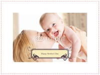 """Photo Upload 8x12"""" with premium frame Photo Canvas by Templatecloud"""