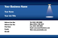 Electrician Business Card  by Templatecloud