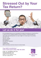 Accountants A4 Leaflets - Front
